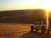 电路在沙漠