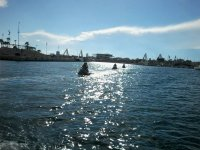 Salida de la excursion en moto de agua