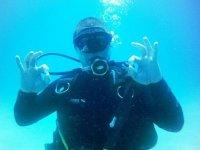 Aprendiendo bajo el agua