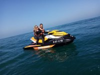 Touring Santander in moto d'acqua