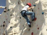 Clases de escalada en rocódromo