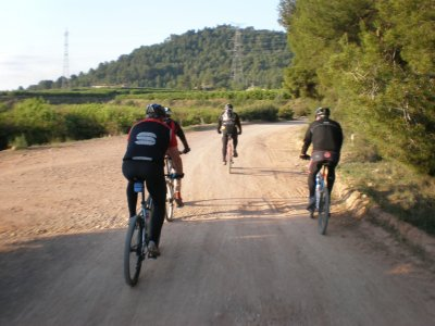 Tour di Les Rodanes in mountain bike, part-time
