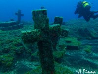 Submerged cemetery