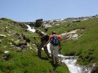 漫步在霍雷拉斯·德尔莫利尼约的瀑布