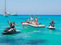 Flota de vehiculos nauticos en Formentera