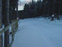 Estacion de esqui nordico