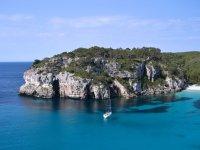 Navegando entre las calas de Formentera
