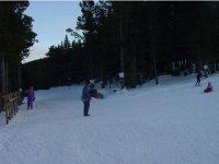 滑雪场越野滑雪标志Tuixent