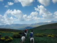 Plan parejas 2 h de ruta a caballo + 2 noches