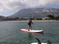 Apprendimento stand up paddle