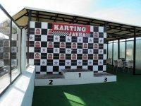 Podium del karting