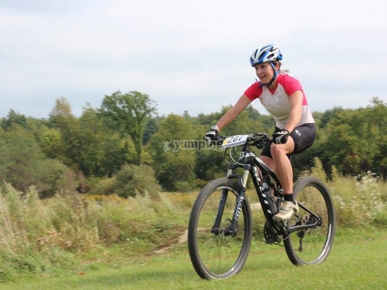 山地自行车骑行