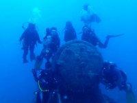 Bucear en pecios en el Mediterráneo
