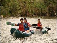 Goditi le canoe