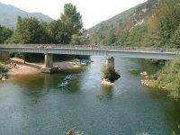Peunte sul fiume Sella