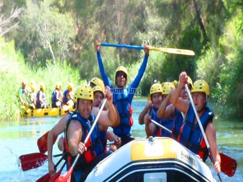 Descenso de rafting en Valencia