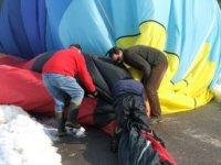 Riding the balloon