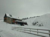 Edificio de la estacion de esqui