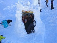 In our newly built iglu