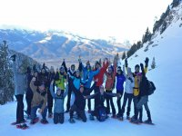 Snowshoe group