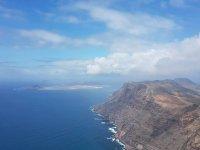 vista aerea de Lanzarote