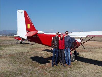 A 30-Min Aircraft Flight in Castellón