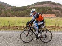 Ciclistas en competicion