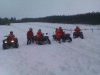 Excursiones en quad en invierno