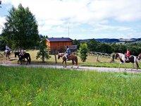 Ruta a caballo por la cabana