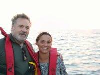 Basilio y Carmela en pescaturismo