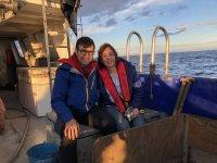 Turismo pesquero en pareja