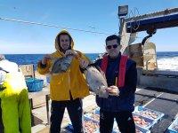 在船上的厨房pescaturismo卡梅拉在船上
