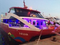 Barca per feste notturne