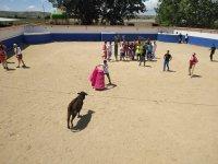 Toreando la vaquilla en Ciempozuelos
