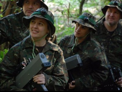 Forest Combat Laser Game -13 anni