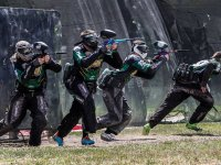 Attack in the paintball field