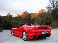 Noleggia Ferrari Spyder Replica