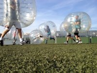 On the playing field in bubbles