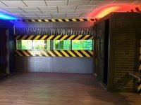 Escenario de acceso al juego laser