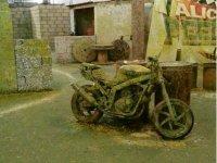 Moto abandonada