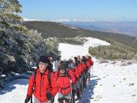 启动路线越野滑雪