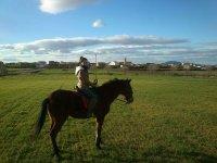 A caballo en Arisgotas