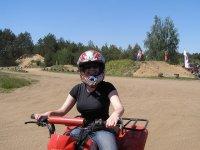 Rodando en un quad
