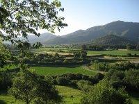 加泰罗尼亚内部的风景