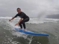 享受冲浪冲浪惊险兰萨罗特