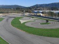 Panoramica de karting