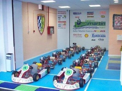 Escuela de iniciación al karting Team Martín Kart
