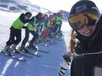 Cursos esqui niños