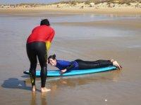 Lección fuera del agua