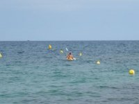 皮划艇在梅诺卡岛